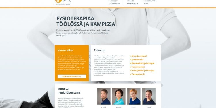 Fysioterapia-Konsultit FTK Oy