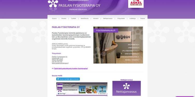 Pasilan Fysioterapia Oy